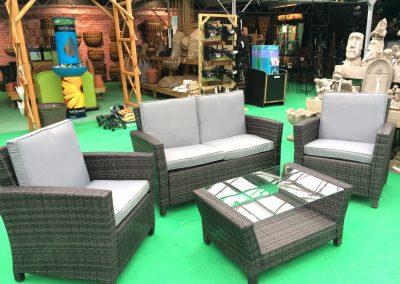Rattan Garden Furniture at embleys nurseries garden centre near preston and southport